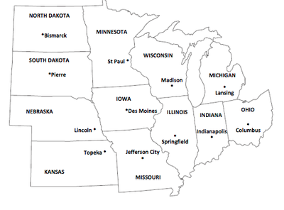 land and water of the midwest region climate products and natural resources landmarks culture
