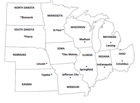 United States Regions Worksheets additionally United States Regions ...